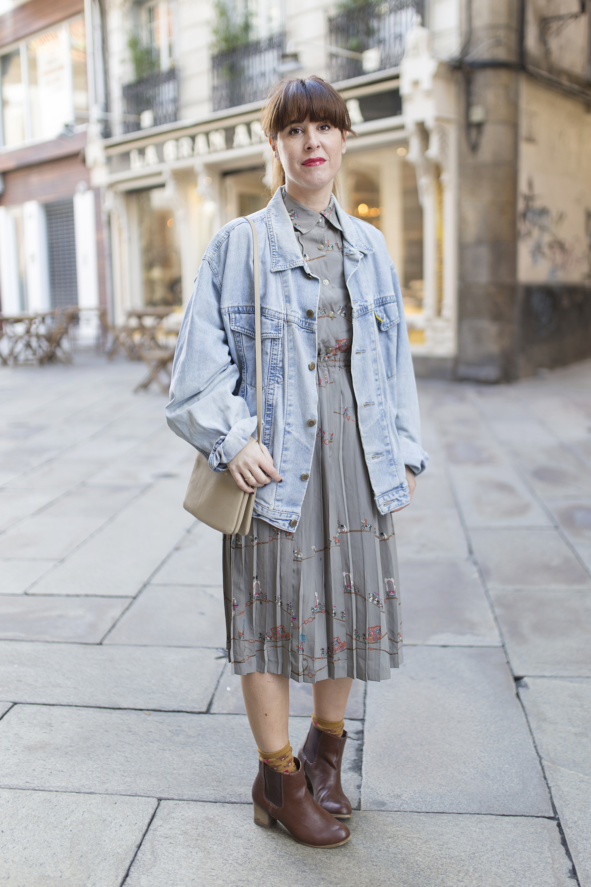 descalzaporelparque-style- look- ootd-moda-calle- denim jacket- streetstyle - coruña -galicia-alba cuesta