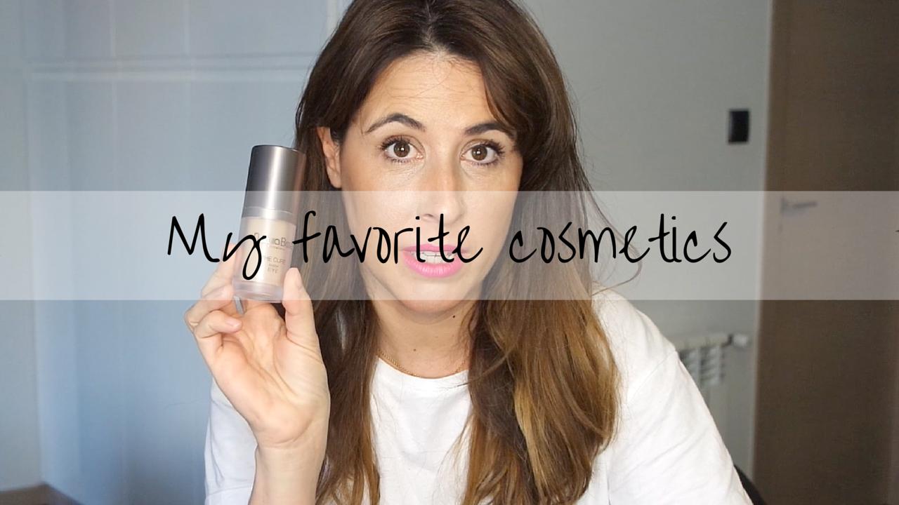 Mis cosméticos favoritos-descalzaporelparque-youtube-video-belleza-beauty