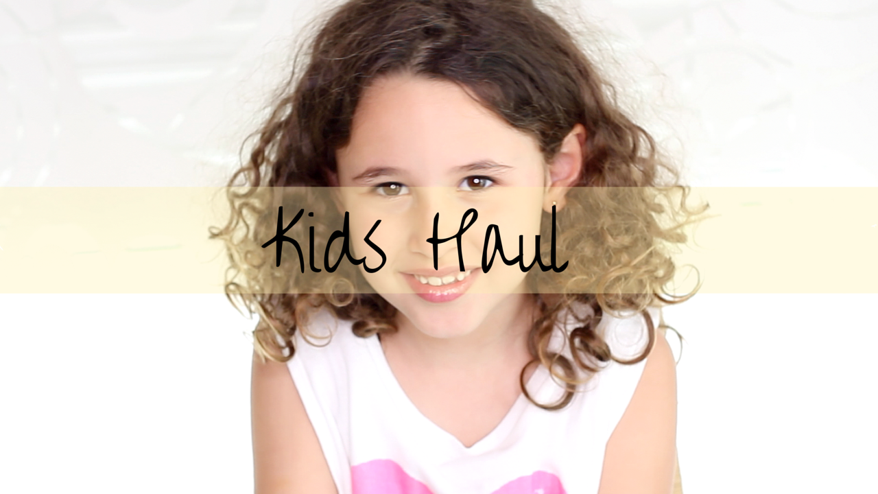 Kids Haul- youtube- descalzaporelparque - channel- Zara- Forever 21- HM- Primark- kid- niños