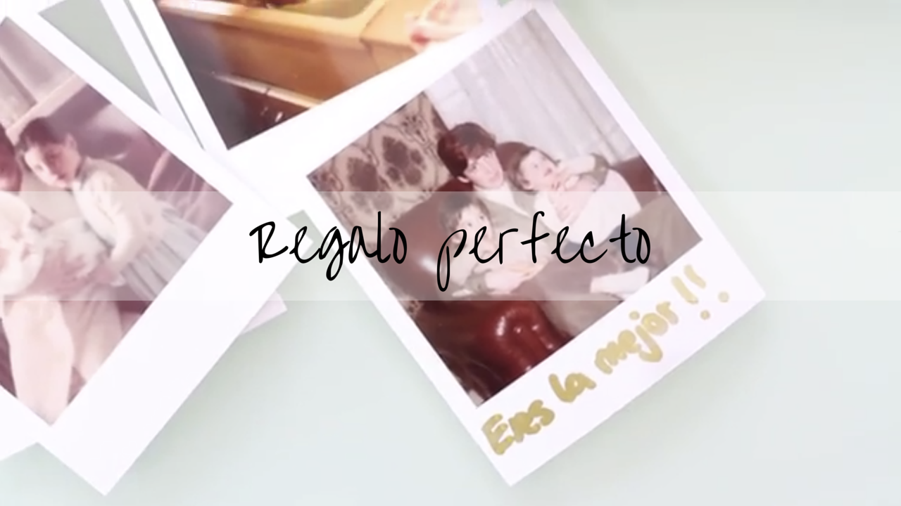 Día de la madre- regalo perfecto-youtube-diy-regalo-yotube-fotos-regalo fácil-regalo barato