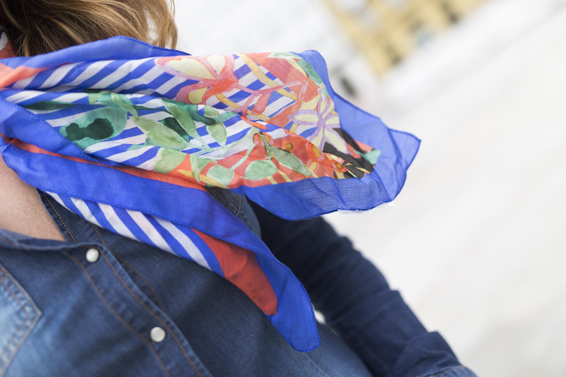 fular de seda- streetstyle-moda-descalzaporelparque- streetstyle-style- scarf-promod