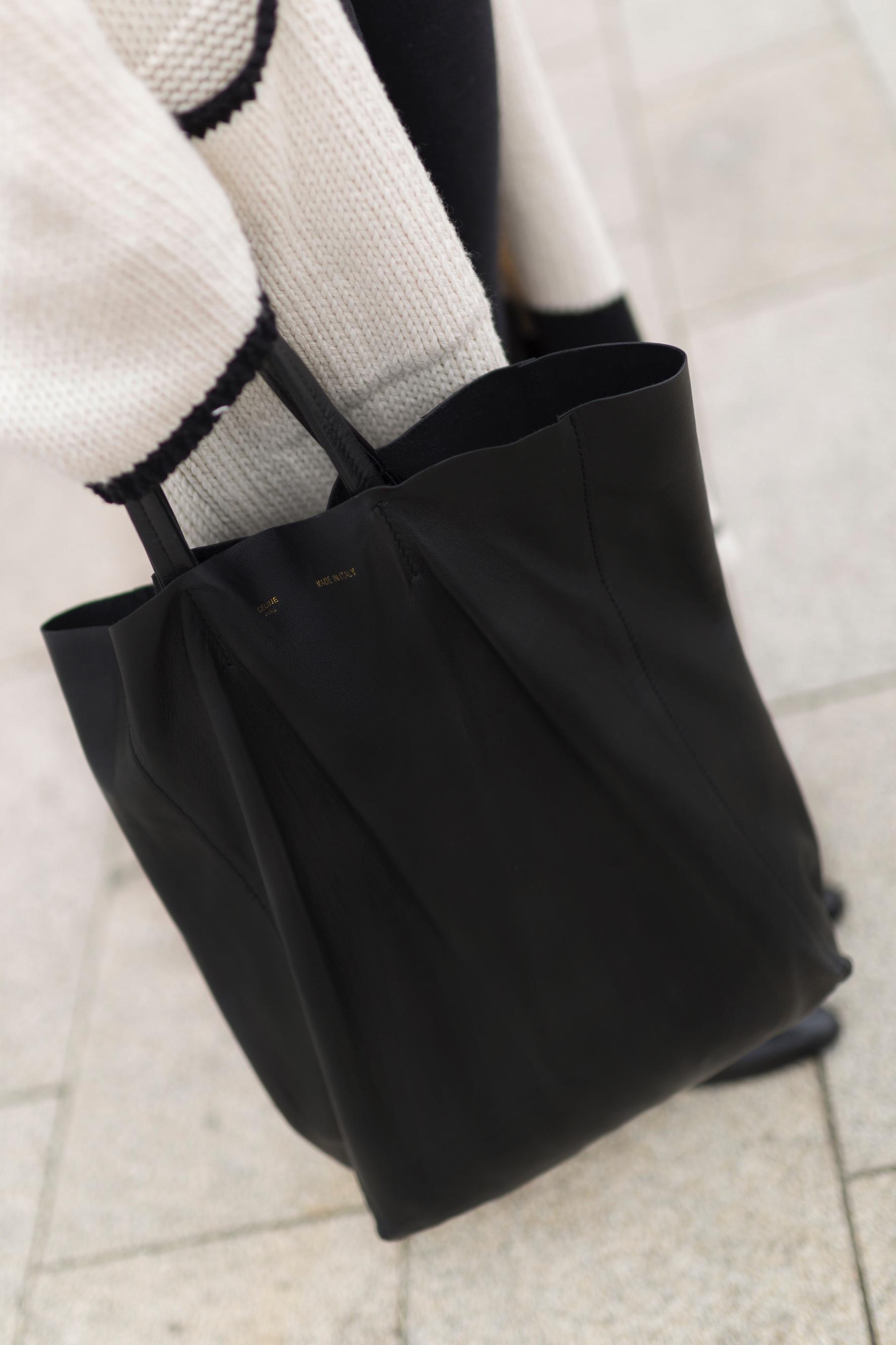 cèline -bag- tote bag- look- coruña- streetstyle- blogger- ootd- descalzaporelparque