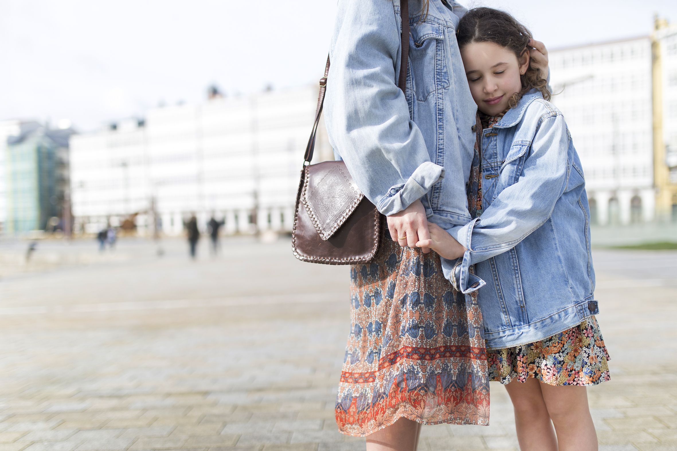 My partner-mi hija-Urban Outfitters- madre e hija- fashion-moda-street style-jimena&me-mother daughter-promod-zara kids-denim jacket