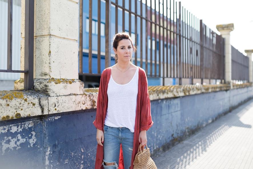 kimono- zara- streetstyle- style- ootd- descalzaporelparque- fashion- look