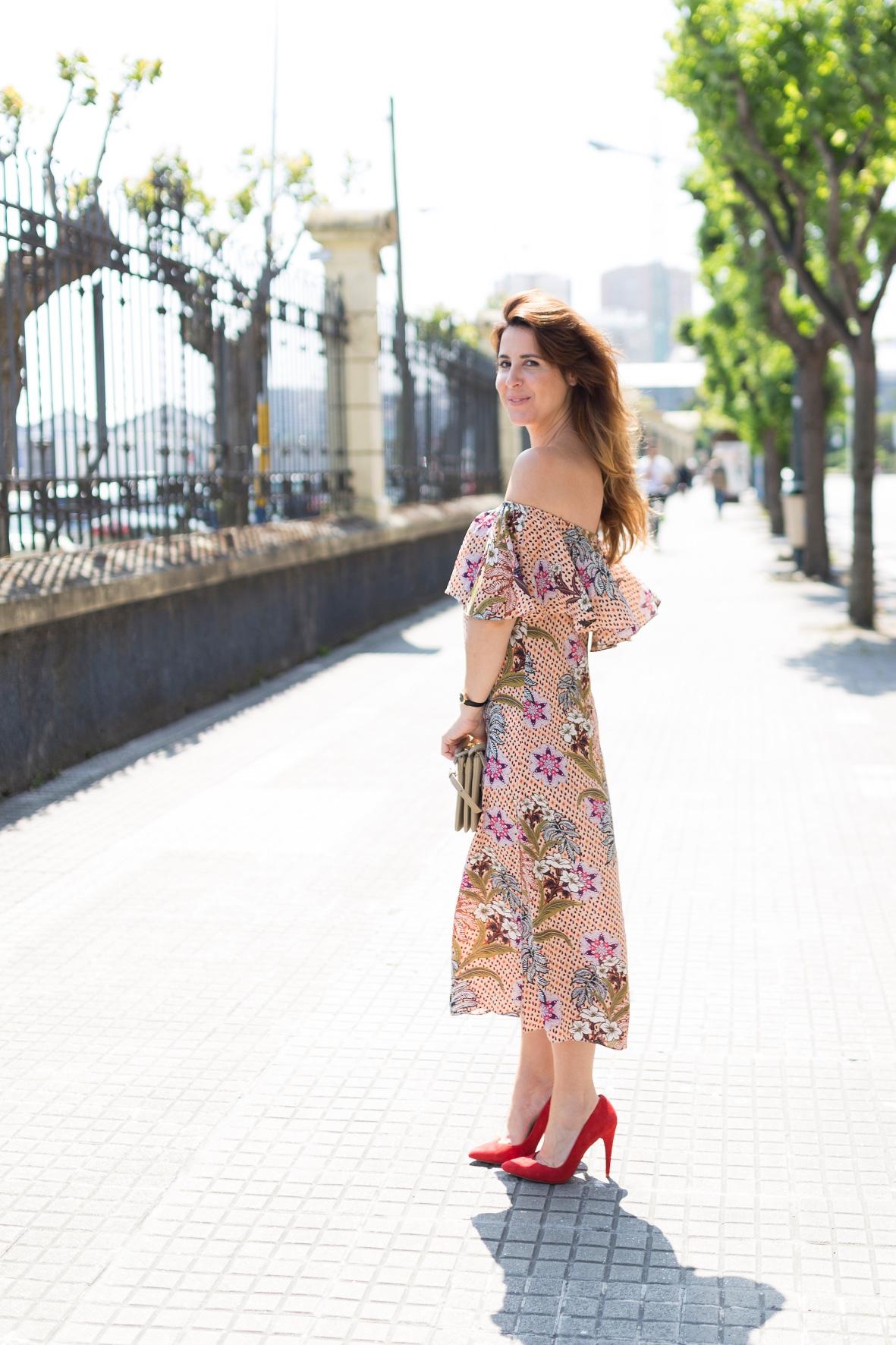 coruña-fashioblogger-zara -descalzaporelparque- blogger-cèline bag · coruña ·cèline -dress · street · trió bag