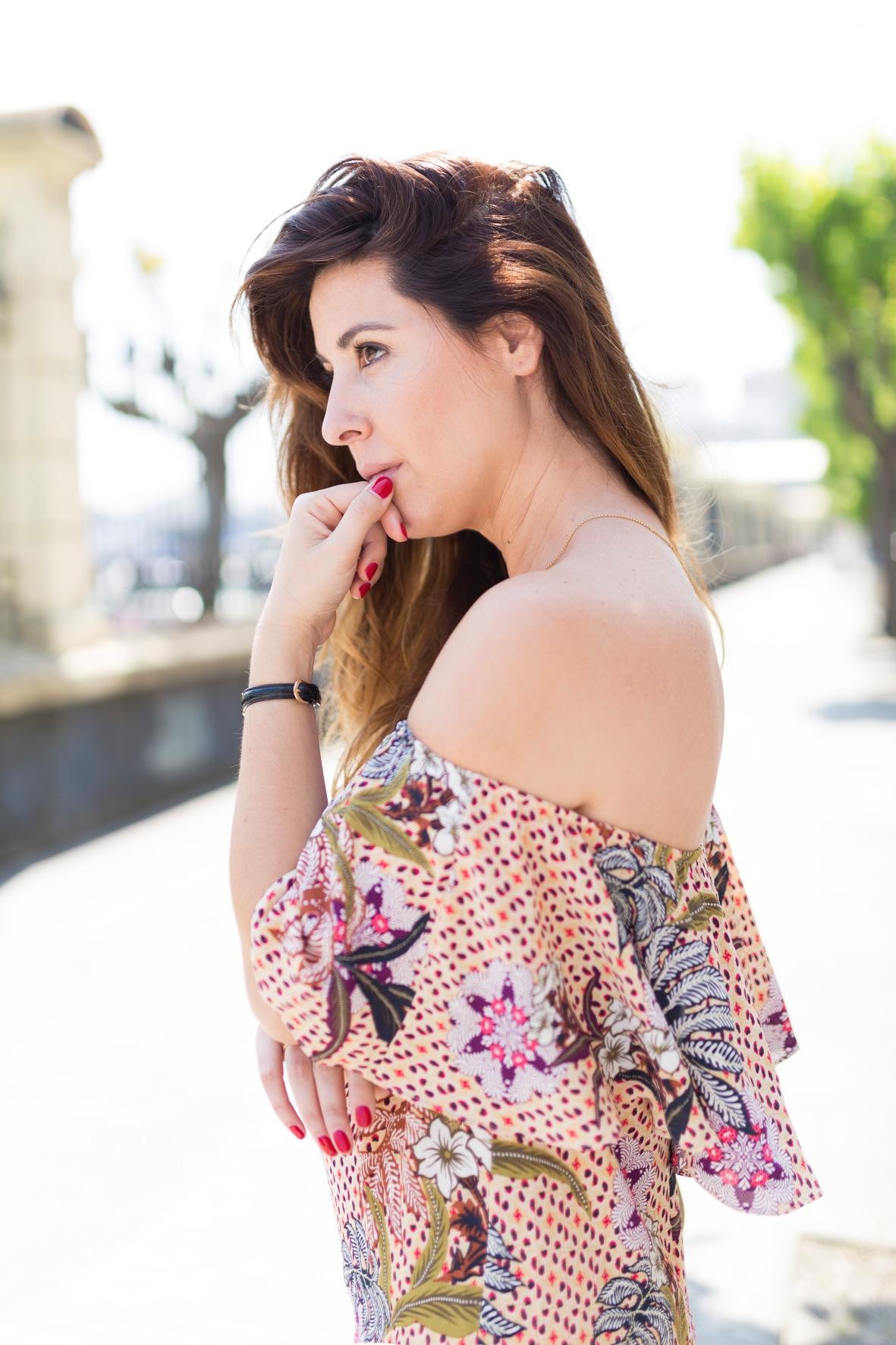 estilo-calle-coruña-fashioblogger -descalzaporelparque- blogger-cèline bag · coruña ·cèline -dress · street · trió bag