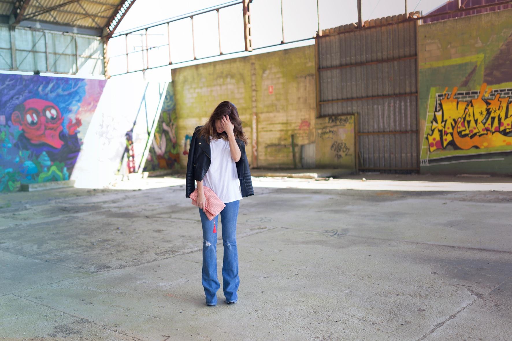 descalzaporelparque - zara -style - blogger -fashion- lo en las nubes- clutch-la letra escarlata -coruña