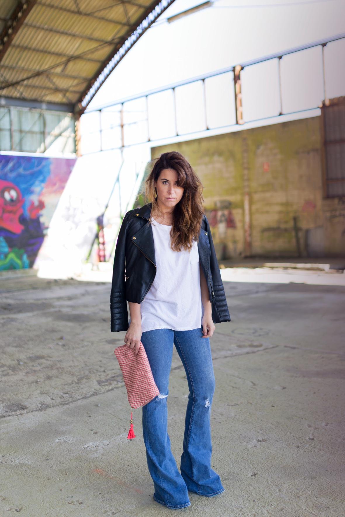 coruña-alba cuesta-fashion- lo en las nubes- clutch-la letra escarlata -descalzaporelparque - zara -style - blogger