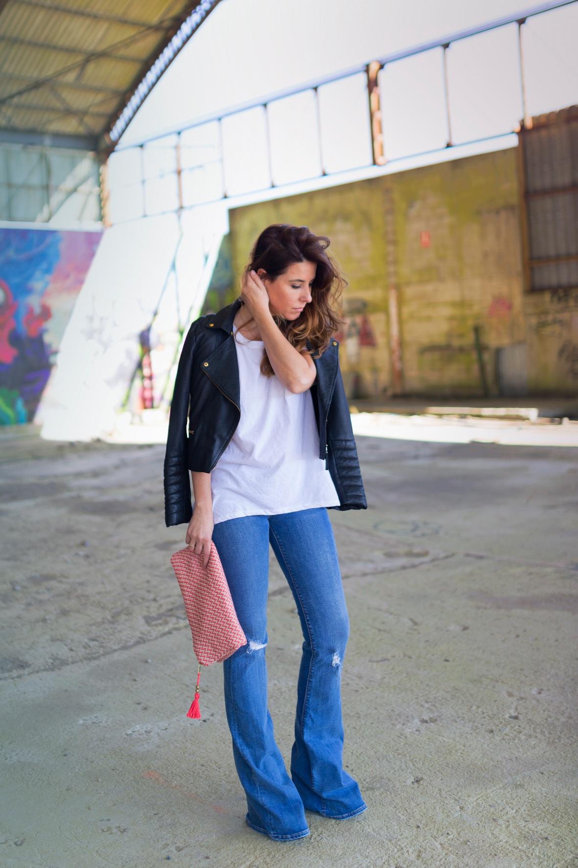 fashion- lo en las nubes- clutch-la letra escarlata -descalzaporelparque - zara -style - blogger
