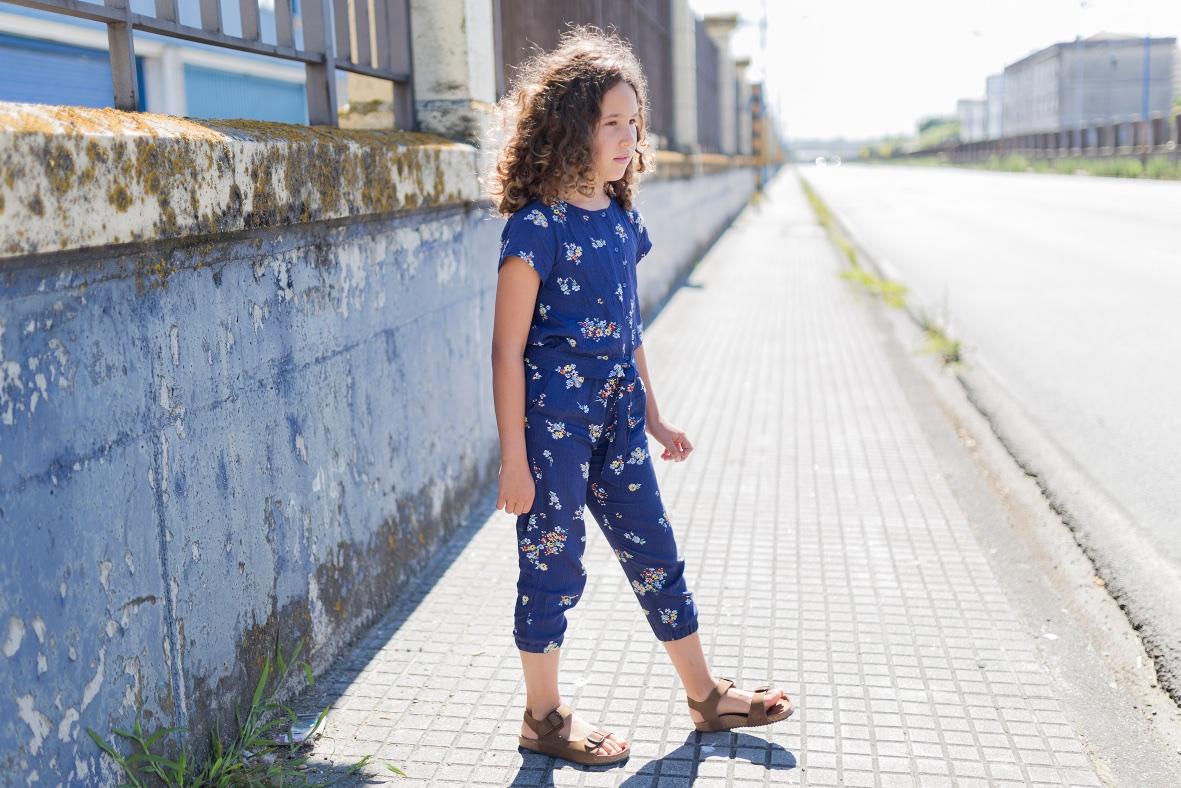 coruña -jimena - jimena look- jumpsuit -kids -miniblogger - moda infantil -mono -niños- Soft -soft de ZARA KIDS - streestyle- style -zara-zara kids
