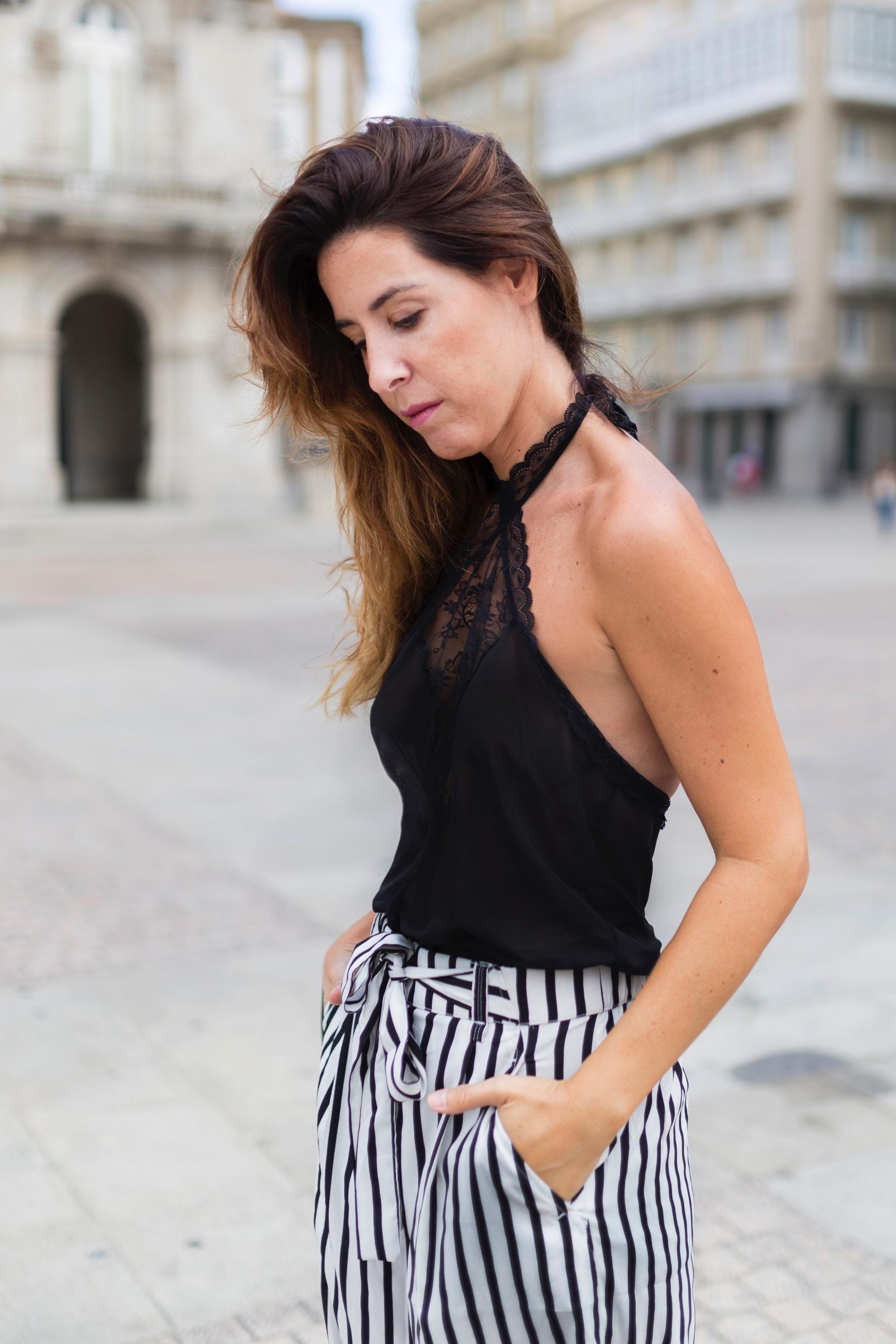 blogger-descalzaporelparque-volver a la rutina- Passionata- lencería- mono lencero- streetstyle- coruña- Céline bag- blogger-passionatagirls