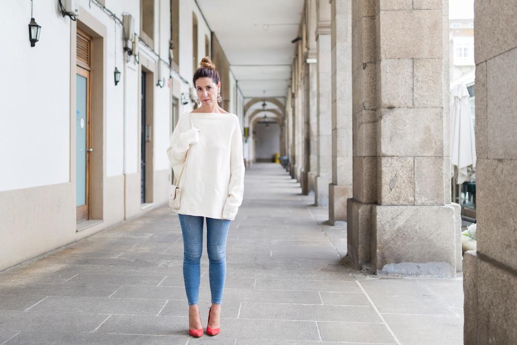 happiness boutique- descalzaporelparque- alba cuesta- coruña- fashion- blogger- Zara-streetstyle-moda calle-coruña-vintage bag