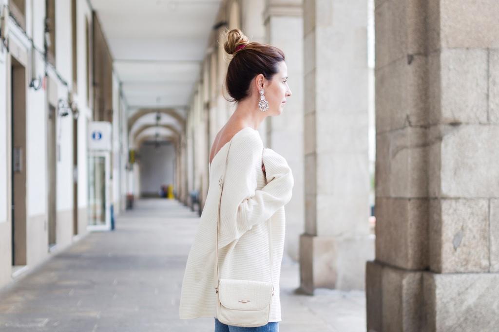 earrings-coruña-vintage bag-nuevos pendientes- happiness boutique- descalzaporelparque- alba cuesta- coruña- fashion- blogger- streetstyle- Zara