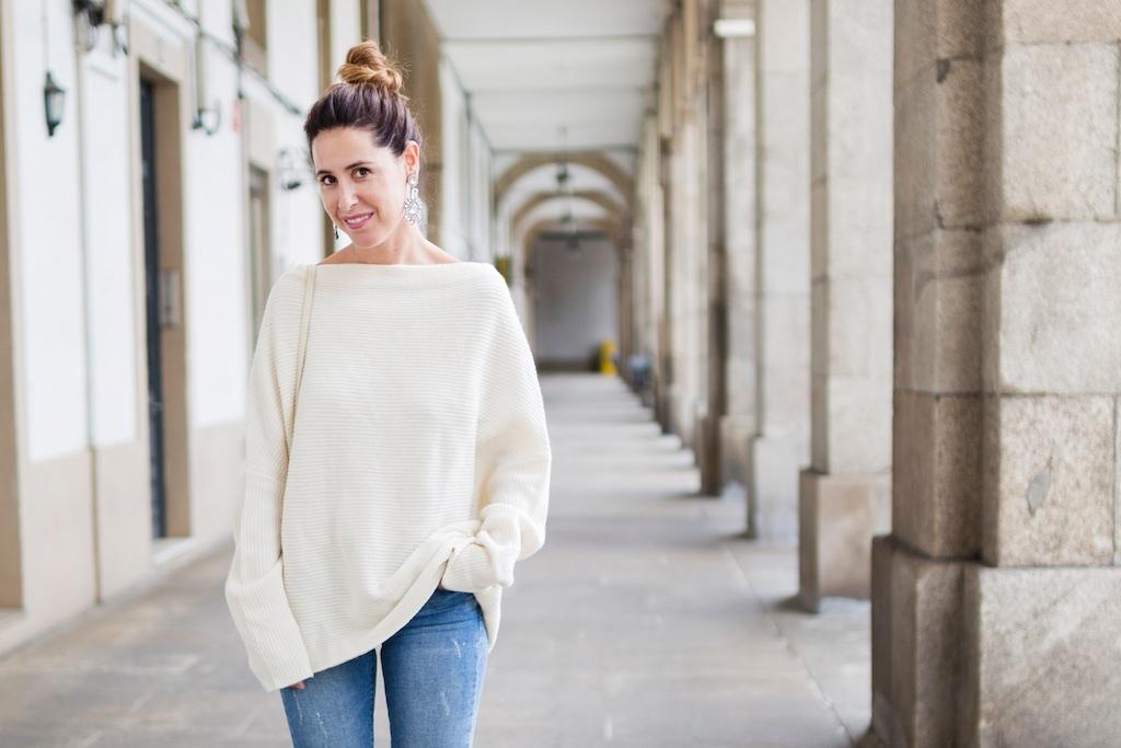 smile-happiness boutique- descalzaporelparque- alba cuesta- coruña- fashion- blogger- Zara-streetstyle-moda calle-coruña-vintage bag