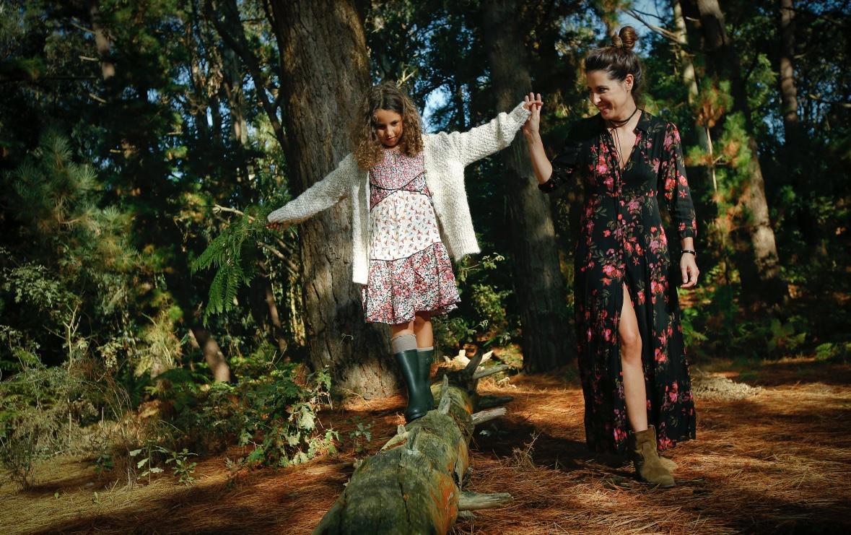 Moda de otoño - ZARA - kids- choker Pull&Bear - moda - coruña - fashion - blogger - style - moda - madre e hija - la voz de galicia - comarcal- botines -ZARA KIDS - Zara dress - descalzaporelparque