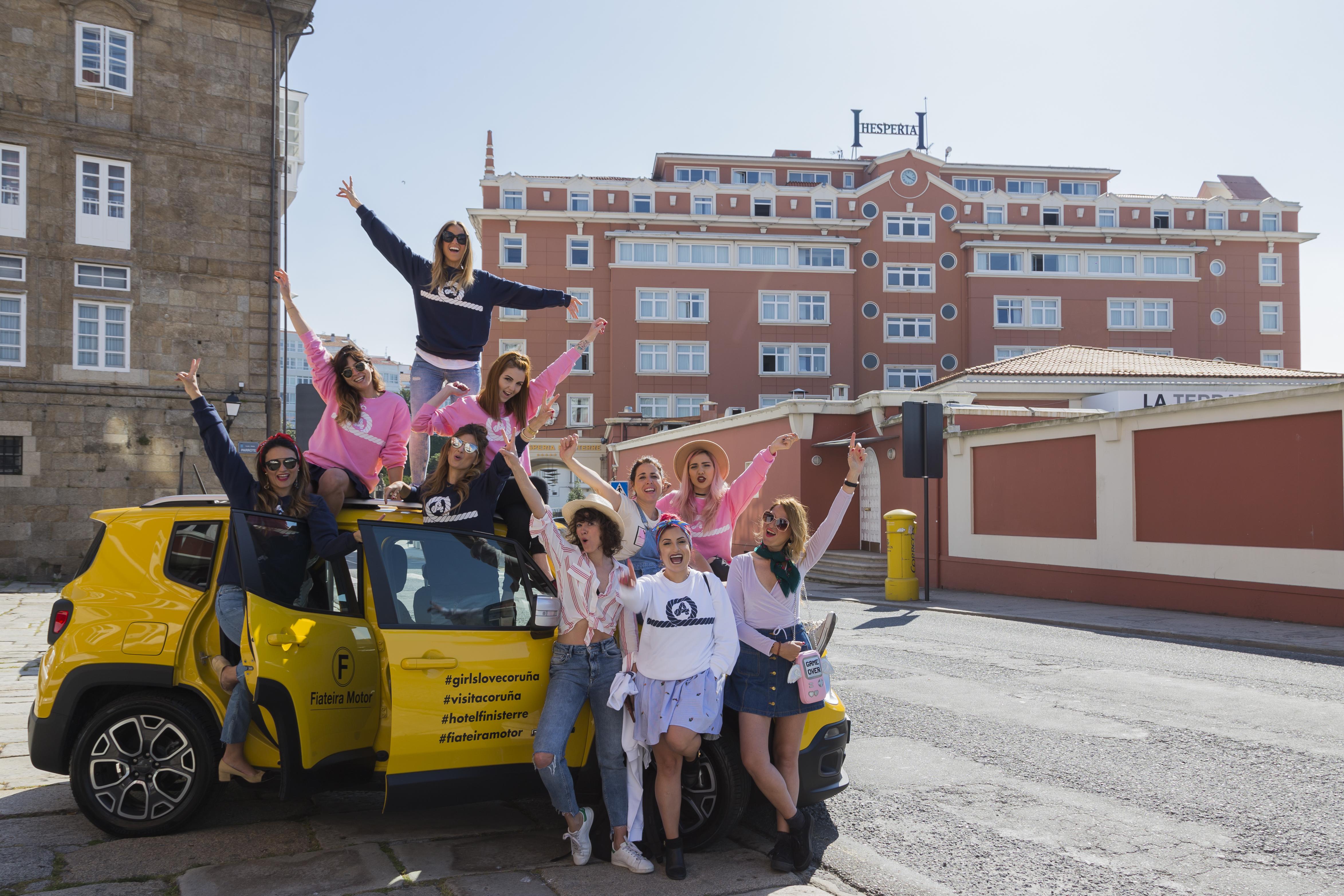 #GirlsLoveCoruña - blog trip-descalzaporelparque- hotel finisterre- denial priegue-