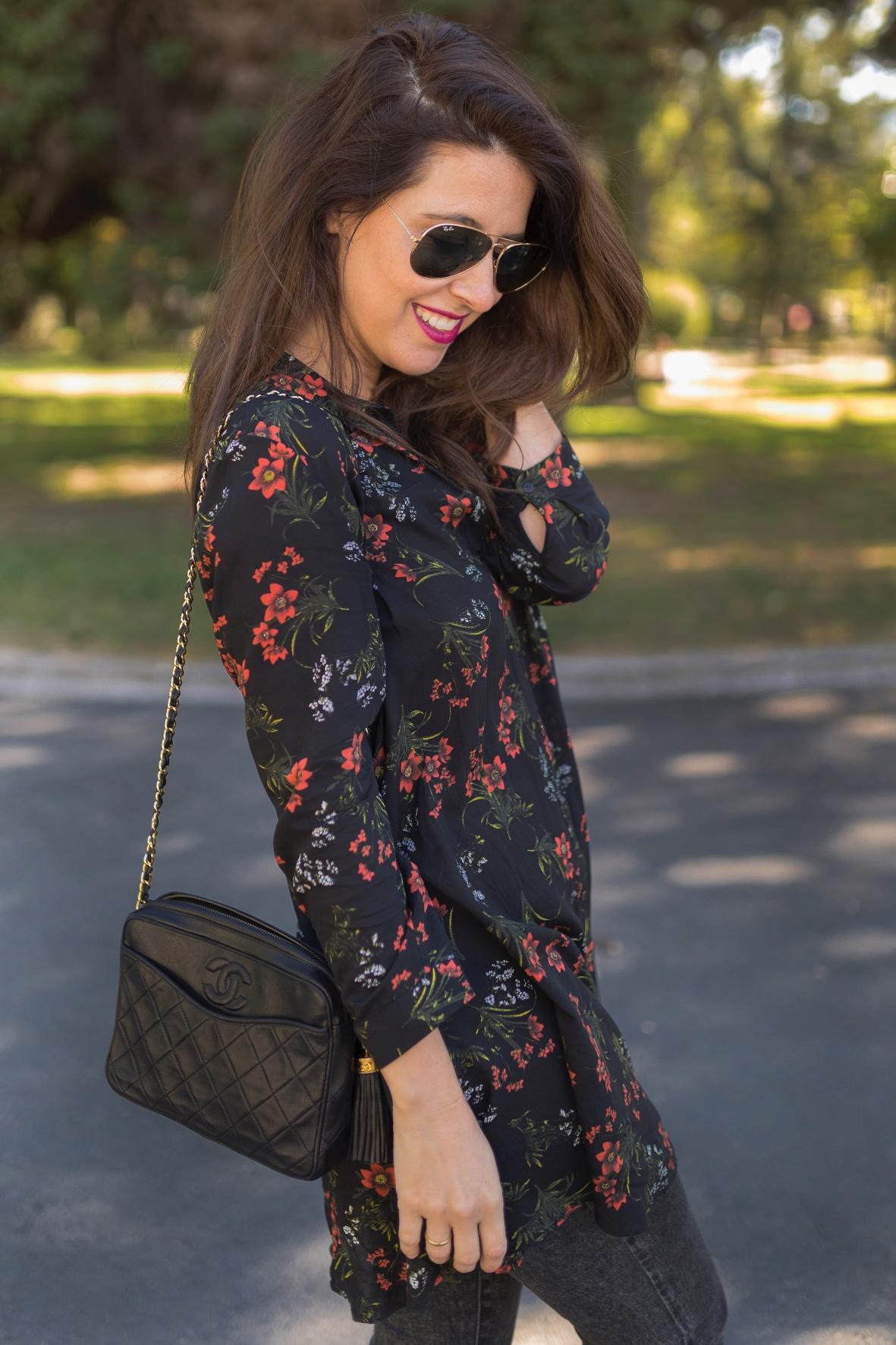 chanel bag ,babuchas, marruecos, look, zara, fashion, outfit, street style, blogger, alba cuesta, estilista