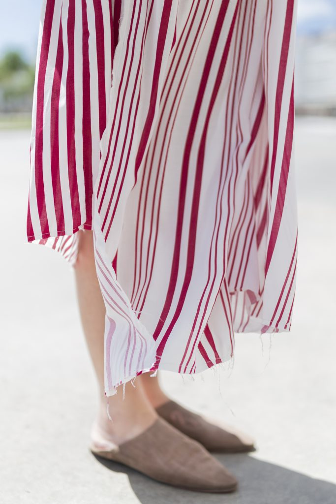 · babuchas · blogger · blanco · descalza look · estilista · fashion - outfit · rayas · street style · zara