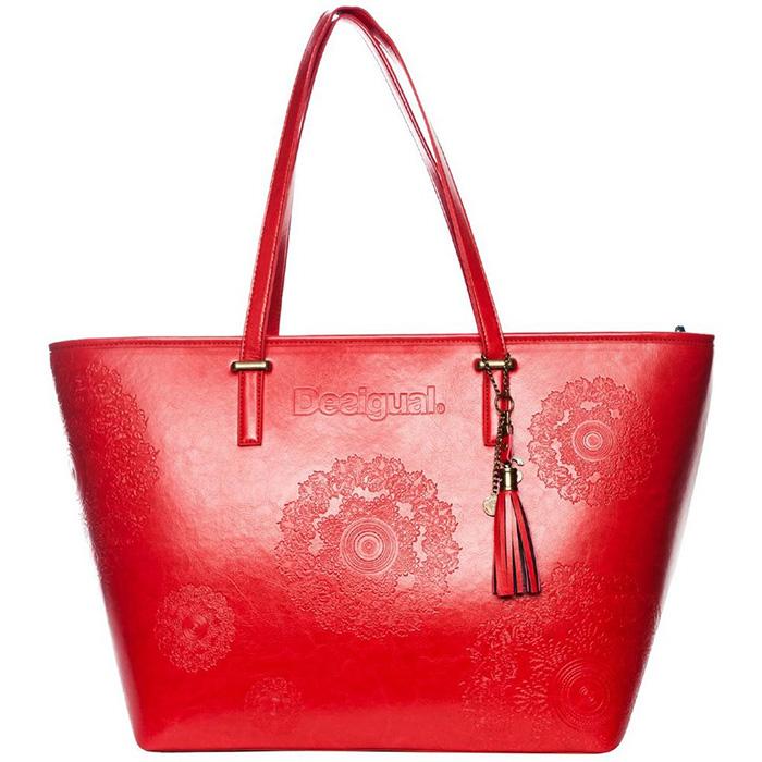 Shopper rojo Desigual