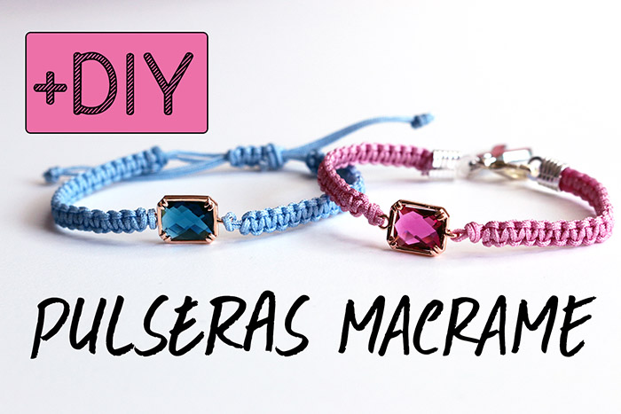 DIY Pulseras de macramé | Macrame bracelets-70-abalorioscdb