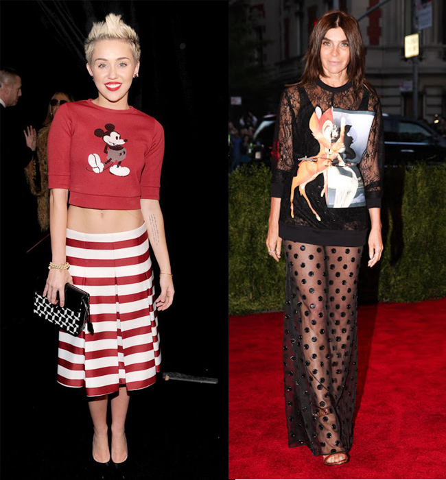 miey-cyrus-marc-jacobs-carine-roitfeld-givenchy-bambi-mickey-mouse