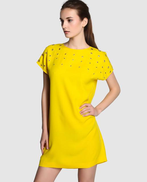 Elogy vestido amarillo