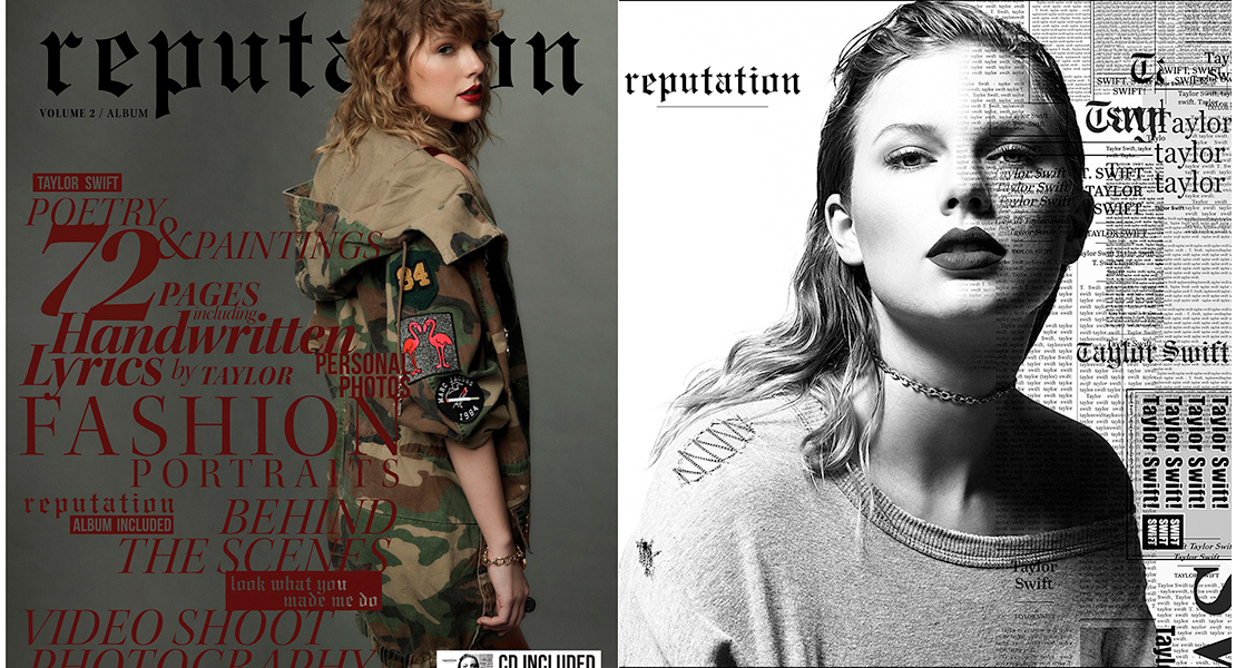 taylor swift reputation el corte ingles
