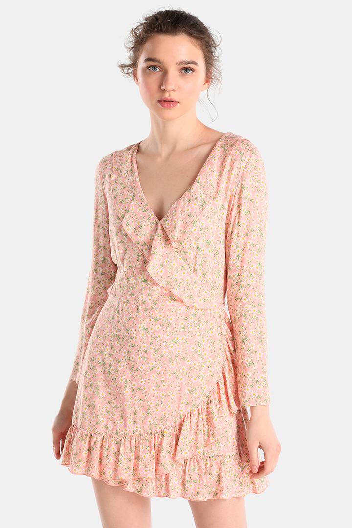 Vestido de flores en tonos pastel de Easy Wear