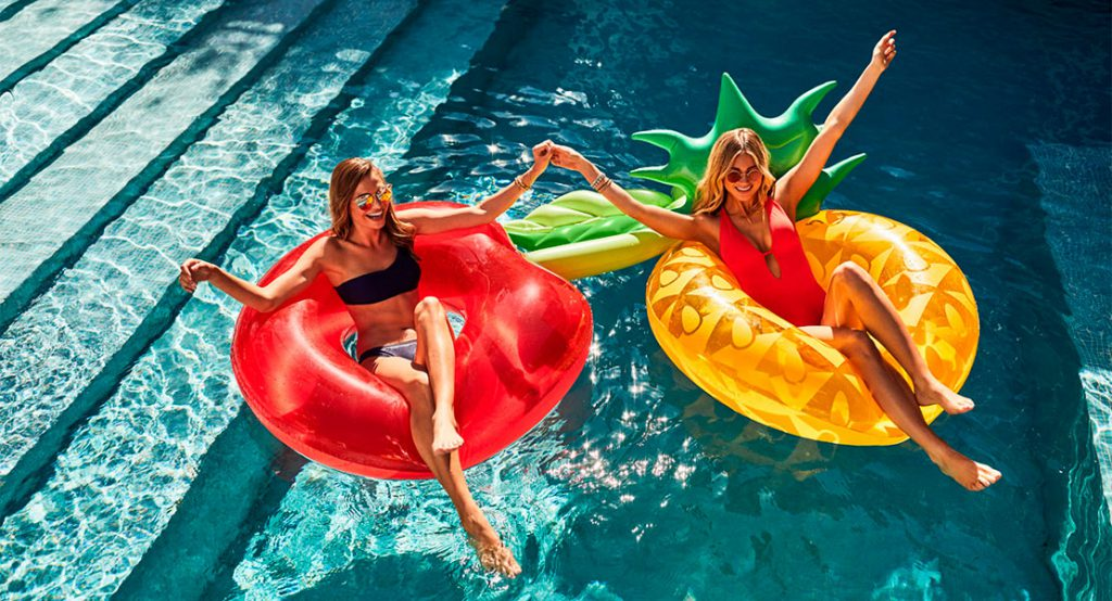 Flotadores de verano