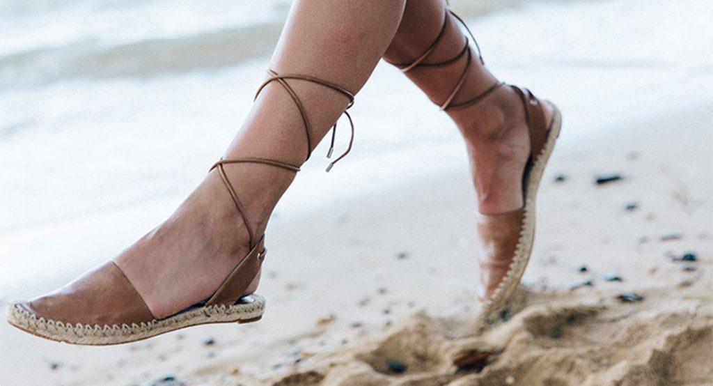 Calzado para la playa