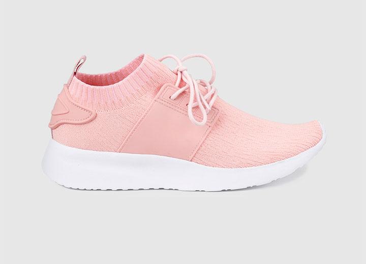 zapatillas todoterreno rosas