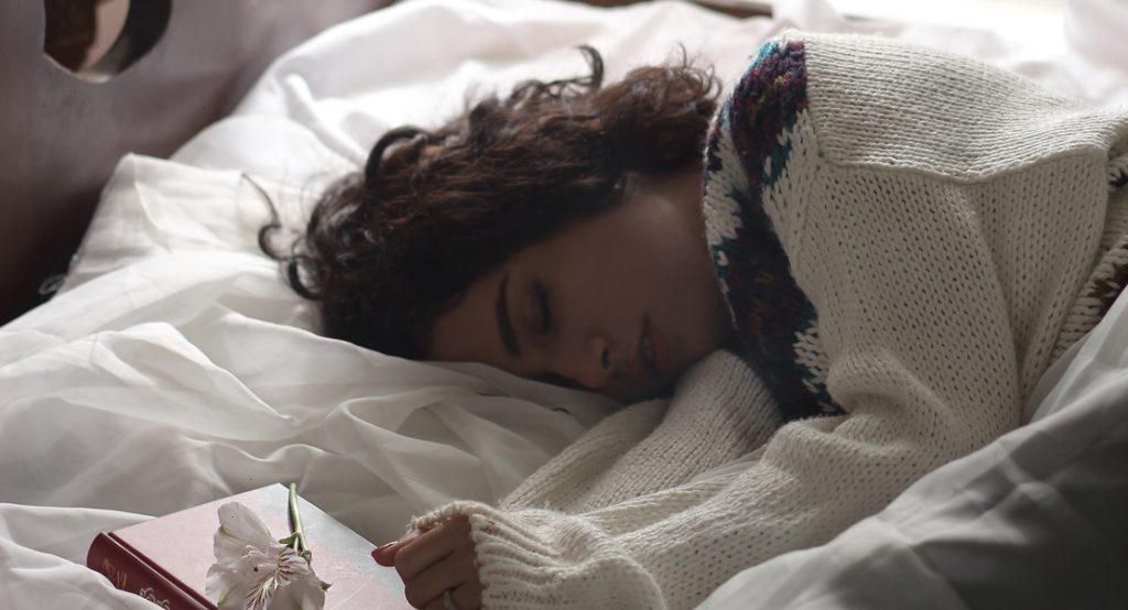 piel mientras duermes