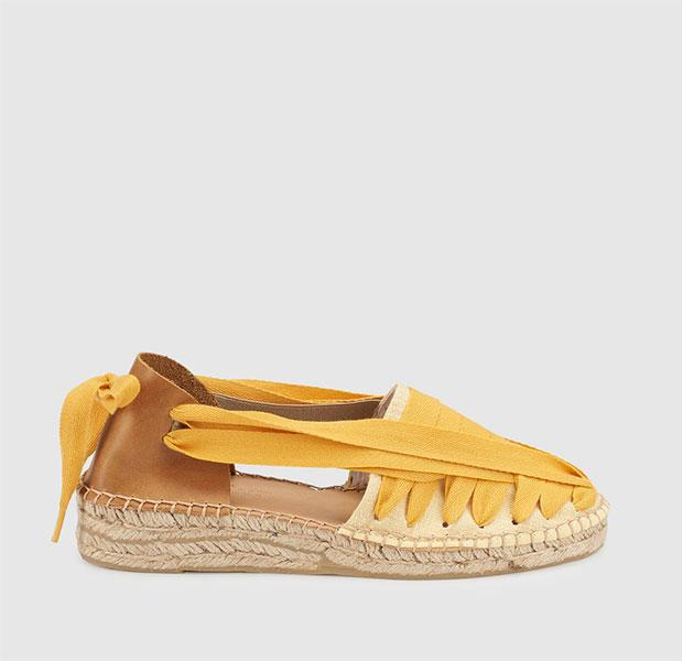 calzado de yute