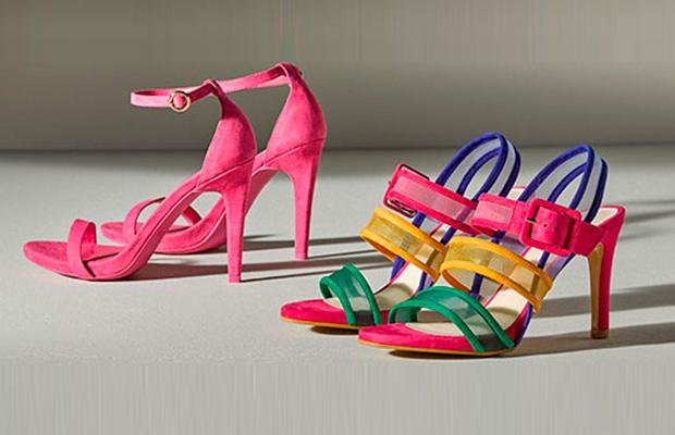 zapatos a todo color