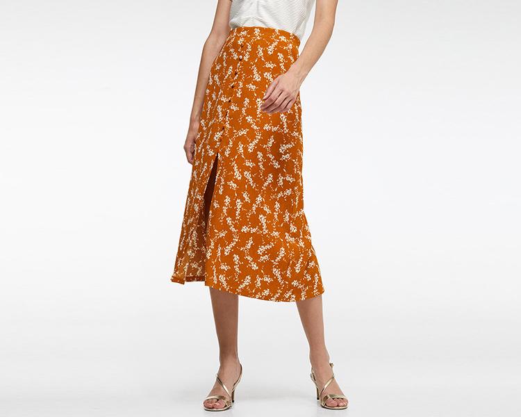 faldas con abertura eci