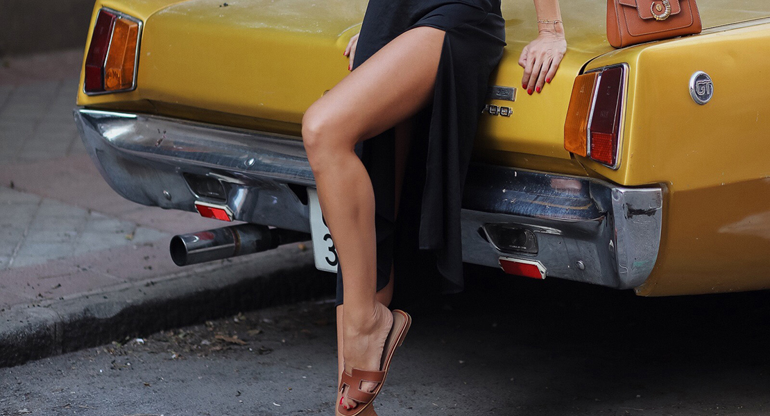 faldas con abertura portada