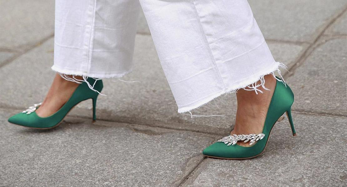 Zapatos de puntera fina