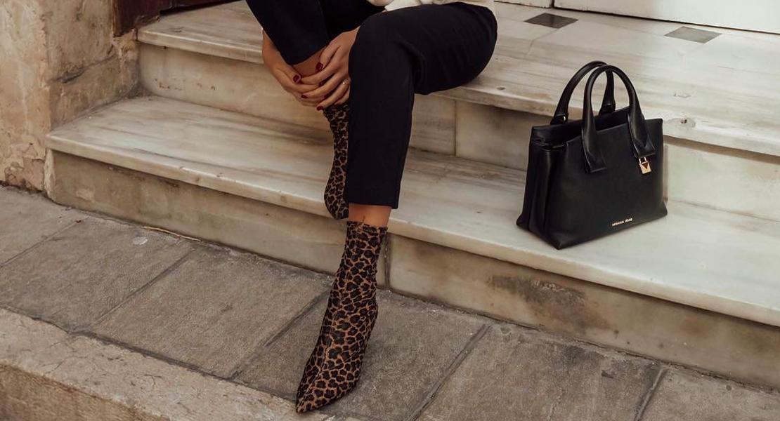 calzado con animal print alba hervas