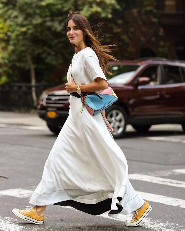 gala gonzalez vestido blanco