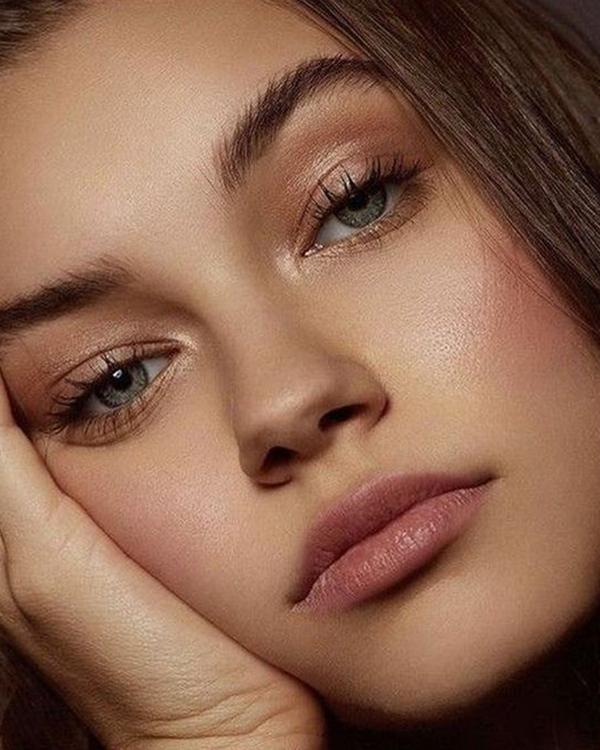 colorete maquillaje natural