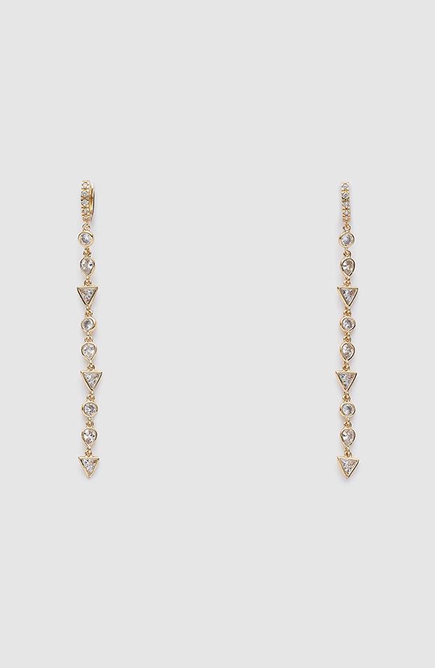 pendientes largos tendencias en joyas