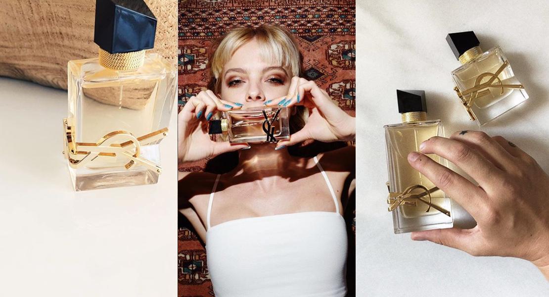 Las influencers con el perfume Libre de Yves Saint Laurent