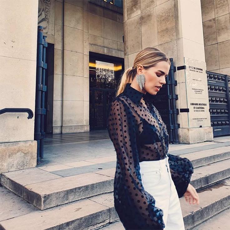 Instagram Mirian Pérez Honeydressing looks para cena de empresa