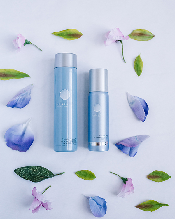 rutina facial para piel mixta agua micelar y bruma