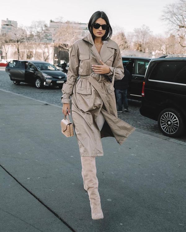 Marta Lozano looks de las semanas de la moda 2020 street style