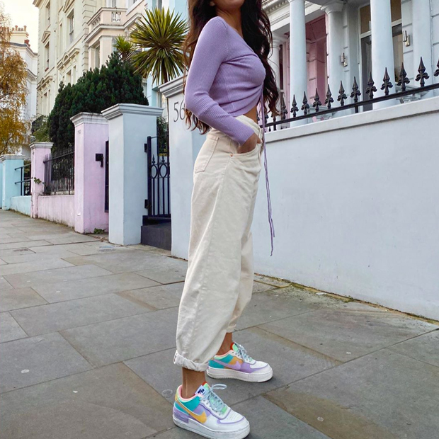 Marta Soriano Nike zapatillas en tendencia 2020