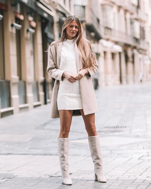 Natalia Coll look invernal