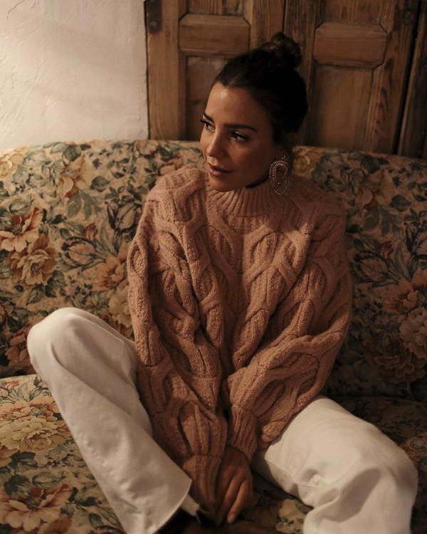jerseis de punto Paula Ordovas jersey marron