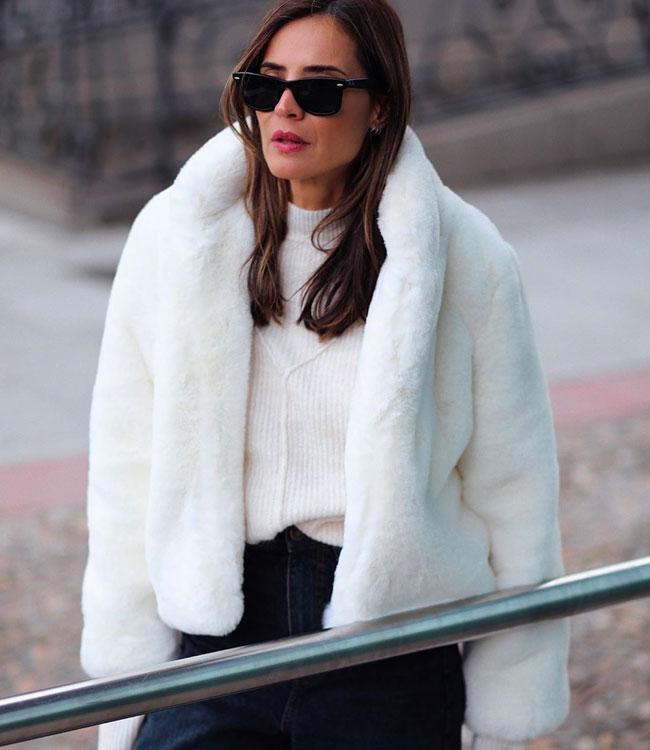 rebajas en enero abrigo lady addict