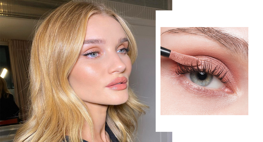 tendencias de maquillaje 2020 rosie huntington